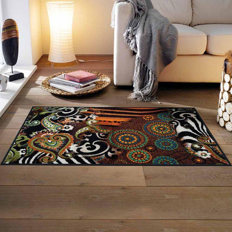fu matte wash dry design joyce 75x120 cm fu matten. Black Bedroom Furniture Sets. Home Design Ideas