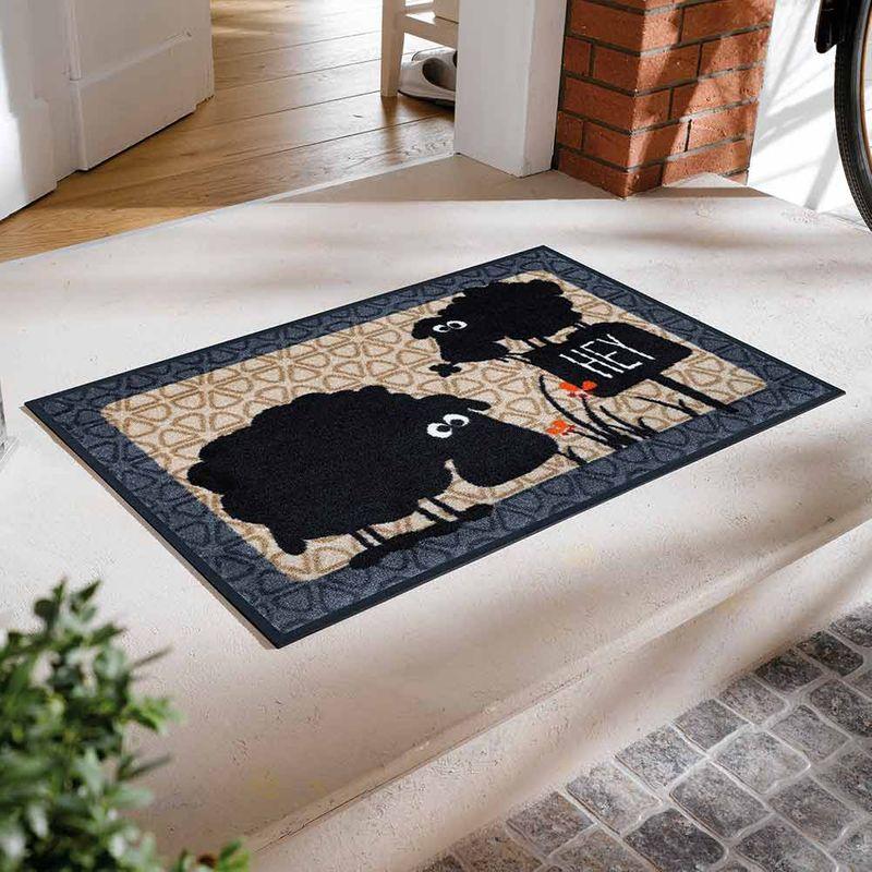 Fußmatte wash and dry Design Gertrud & Elsbeth Designbeispiel