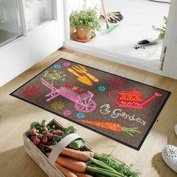 Fußmatte wash+dry Design My Garden 50x75 cm