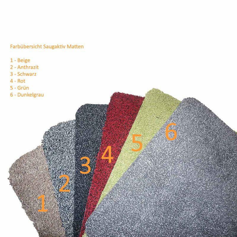 Astra Fussmatte Saugaktiv Rot 10 | 60x75 cm Bild 3