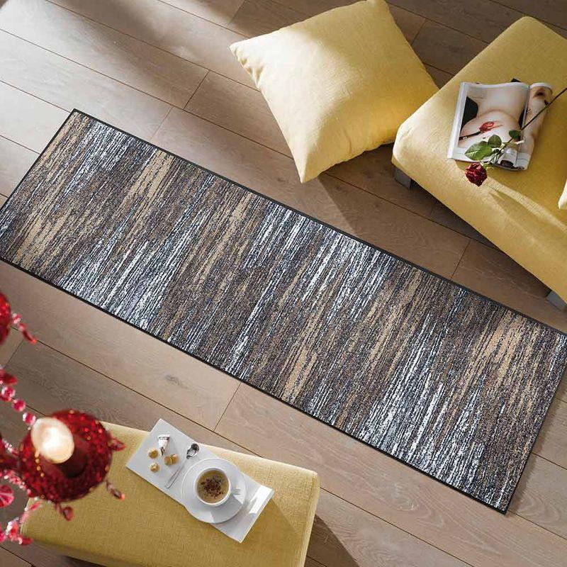 Fußmatte wash+dry Design Scratchy beige 60x180 cm