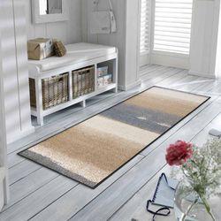 Fußmatte wash+dry Design Medley beige 60x180 cm