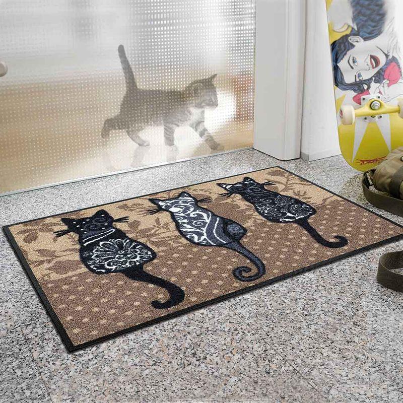 Fussmatte wash+dry Design Katzenbande 50x75 cm Designbeispiel