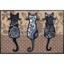 Fussmatte wash+dry Design Katzenbande 50x75 cm