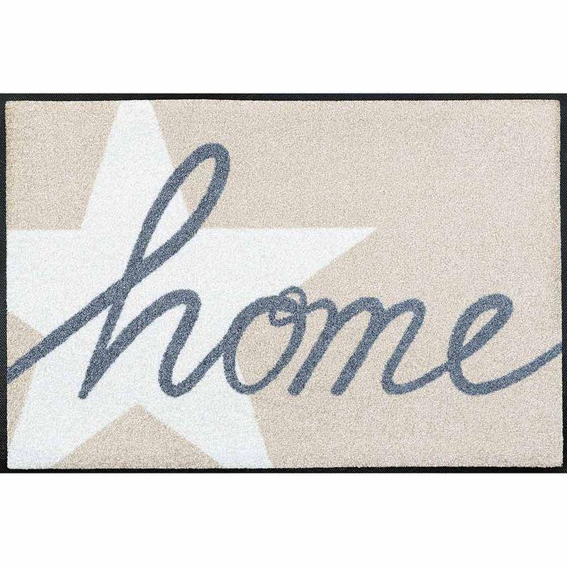Fußmatte wash+dry Design Home Star 50x75 cm