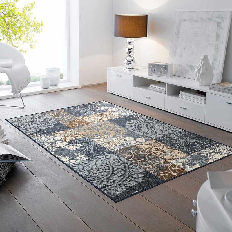 Fußmatte wash+dry Design Armonia grey 115x175 cm
