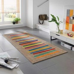Fussmatte wash+dry Decor Mixed Stripes 80x200 cm