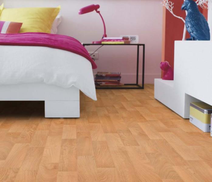 PVC Boden Tarkett Essentials 260 Robur Yellow 4m Bild 1