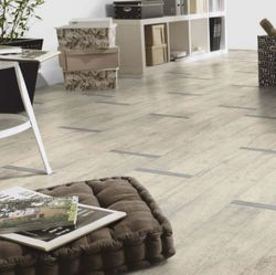PVC Boden Tarkett Exclusive 260 Metal Oak White 3m Bild 1