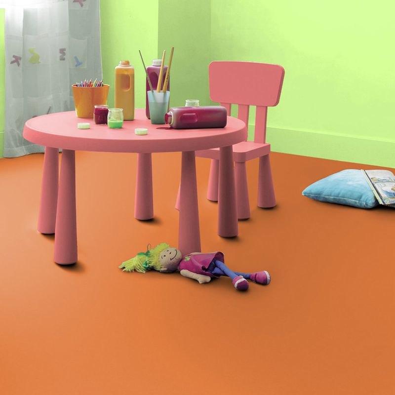 PVC Boden Tarkett Exclusive 260 Dj Medium Orange 3m Bild 3