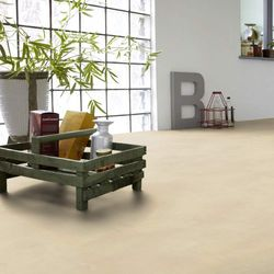 PVC Boden Tarkett Exclusive 300 Polished Concrete Beige 3m