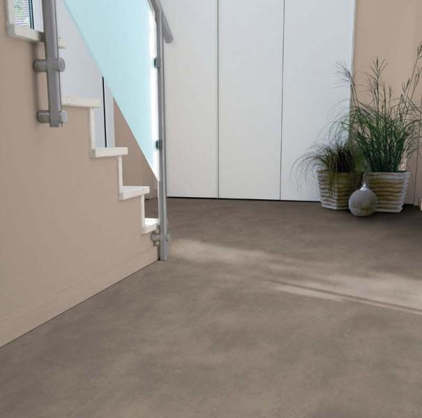 PVC Boden Tarkett Exclusive 300 Polished Concrete Grege 3m