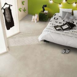 PVC Boden Tarkett Exclusive 300 Polished Concrete Light Grey 4m