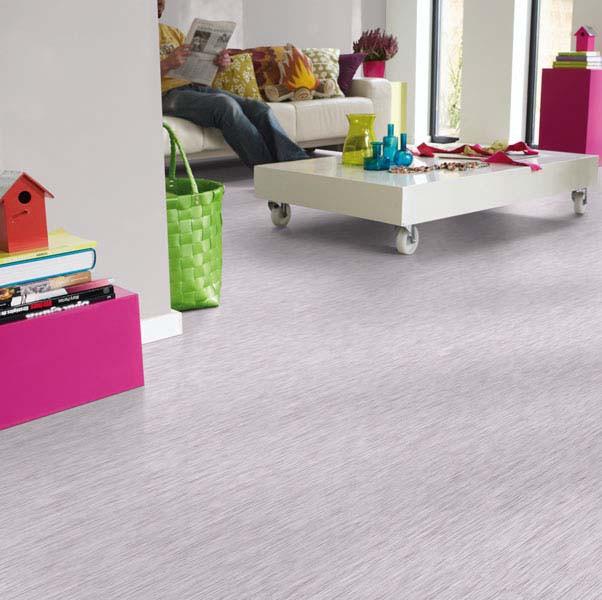 PVC Boden Tarkett Exclusive 300 Fiber Wood Light Grey 4m