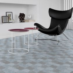 Gerflor Vinyl Fliese Design 0629 Square Clear Designbeispiel