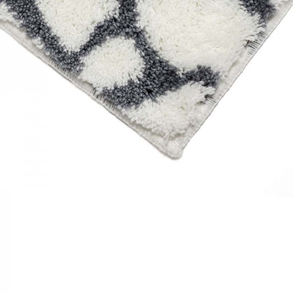 Badteppich Schöner Wohnen Mauritius Steine Weiß 000 | 60x60 cm Bild 4
