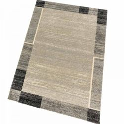 Astra Teppich Samoa Des.152 Bordüre Schwarz 040 | 80x150 cm Bild 1