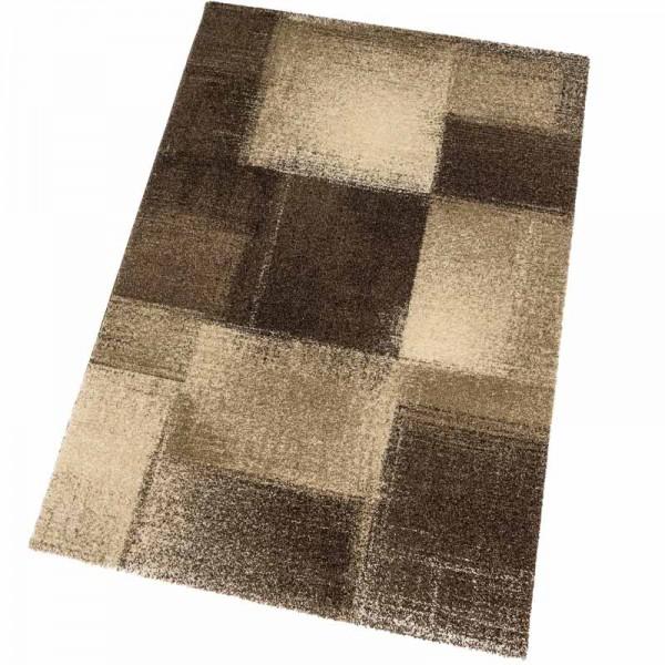 Astra Teppich Samoa Des.151 Karos Braun 060 | 67x130 cm