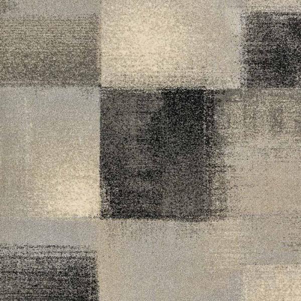 Astra Teppich Samoa Des.151 Karos Anthrazit 040 | 80x150 cm Bild 2