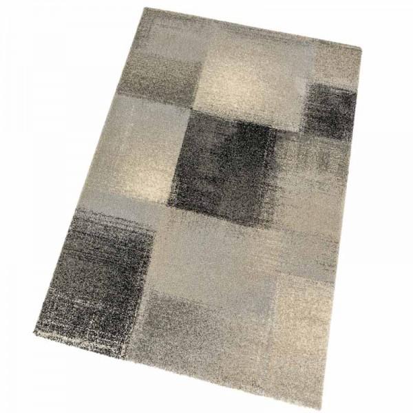 Astra Teppich Samoa Des.151 Karos Anthrazit 040 | 67x130 cm