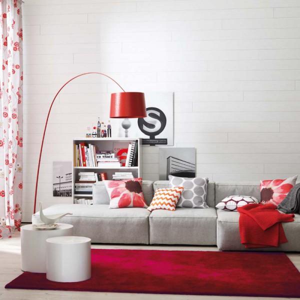 sch ner wohnen teppich victoria 010 rot wunschma markenshop sch ner wohnen teppiche. Black Bedroom Furniture Sets. Home Design Ideas