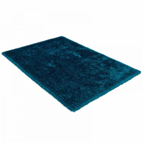 Shaggy Teppich ColourCourage 034 Teal | 90x160 cm Bild 3
