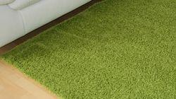 Reststück Shaggy Teppich Alexis Kiwi | 0,45x1,90 m Bild 2