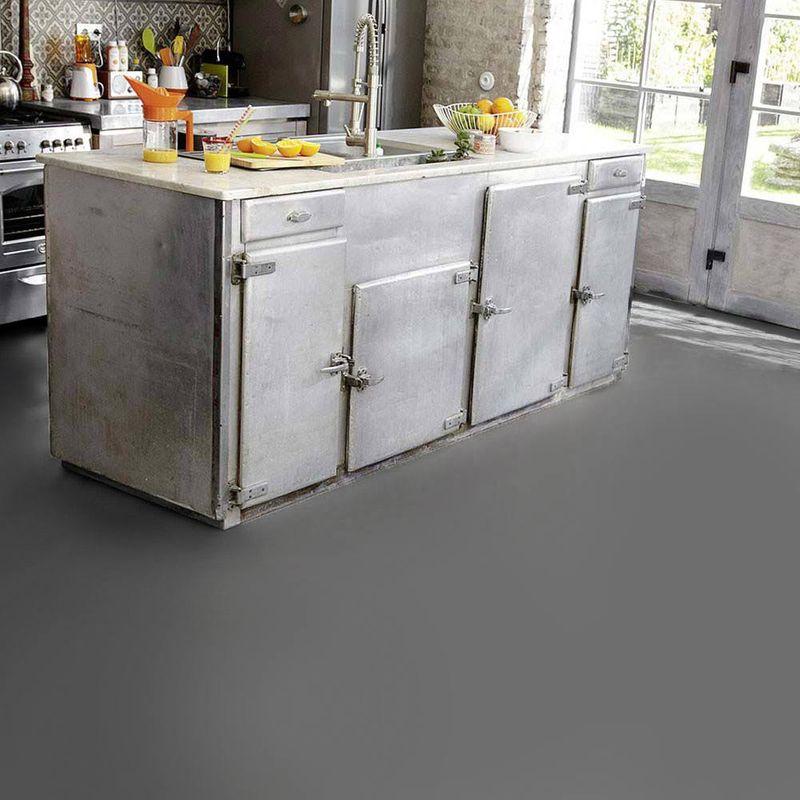 PVC Boden Tarkett Exclusive 260 Dj Dunkelgrau 3m