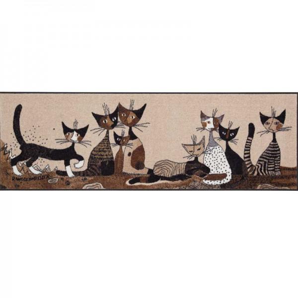 Fussmatte Serafino & Friends Rosina Wachtmeister 60x180 cm Bild 2