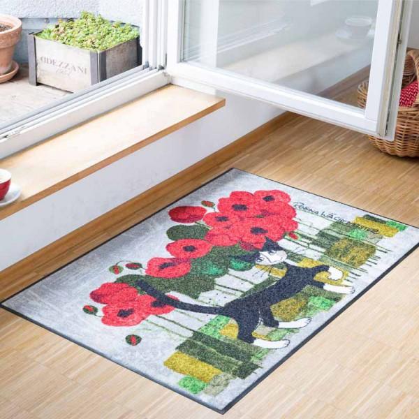 Fussmatte Poppy Walk Rosina Wachtmeister 75x120 cm Bild 3