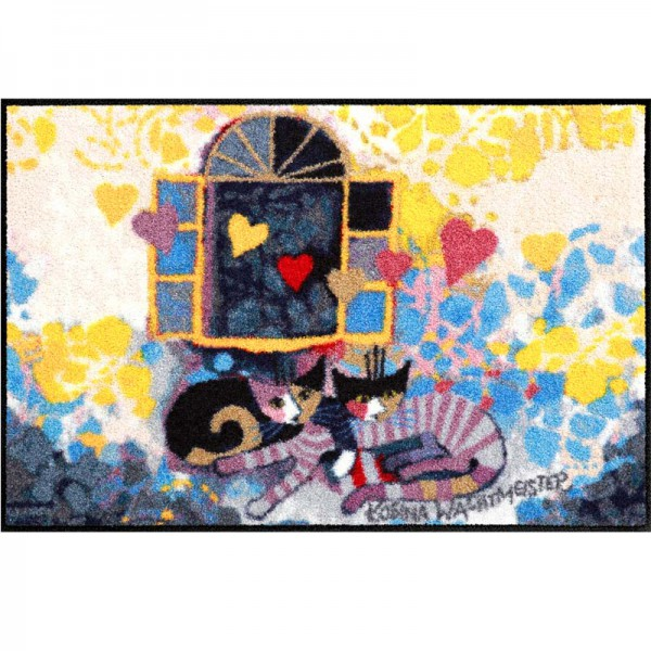 Fussmatte Flying Hearts Rosina Wachtmeister 50x75 cm
