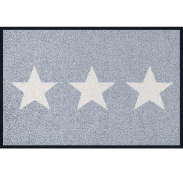 Fussmatte wash+dry Design Stars Grey