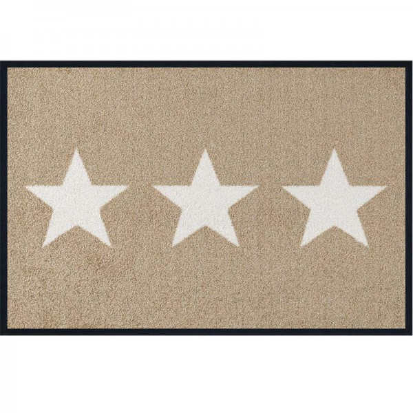 Fussmatte wash and dry Design Stars Sand