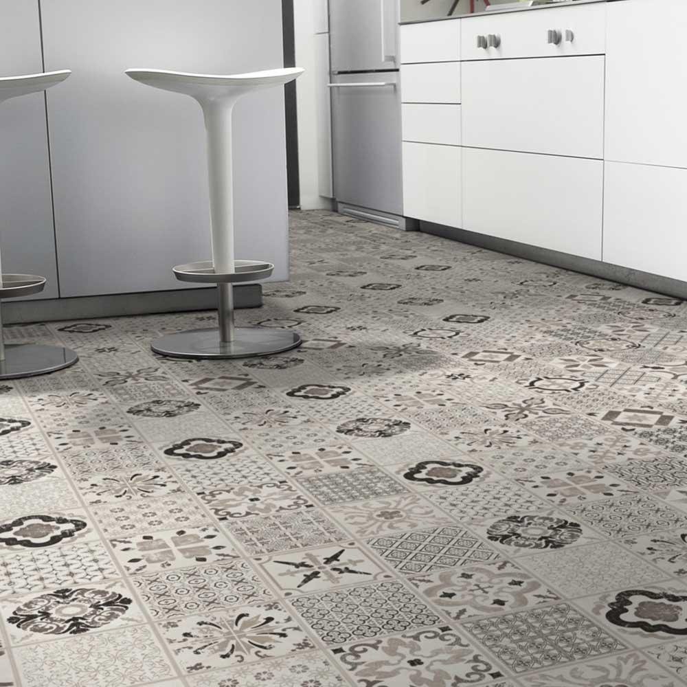 Klick Vinyl Tarkett Starfloor Click 30 | Retro Black White 1,68 m²