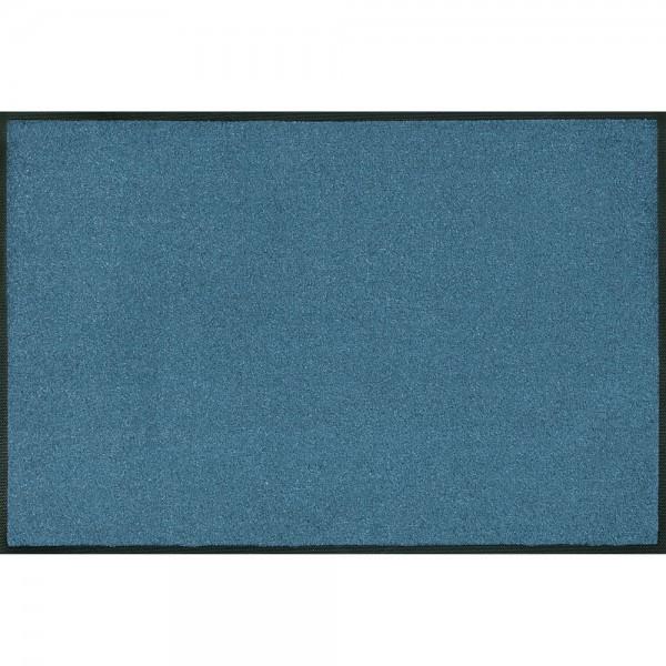 Fussmatte wash+dry Trend-Colour Steel Blue 60x180 cm