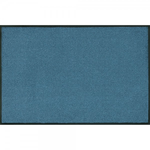 Fussmatte wash+dry Trend-Colour Steel Blue 50x75 cm Bild 1
