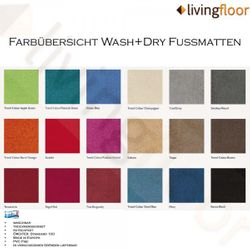 Fussmatte wash+dry Original True Burgundy 75x190 cm Bild 2