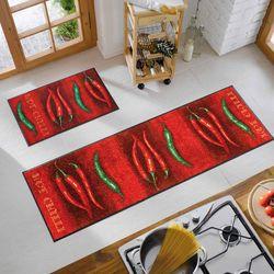 Fussmatte wash and dry Design Hot Chilli 50x75 cm Designbeispiel