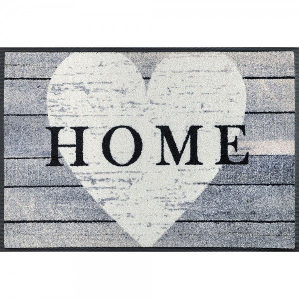 Fussmatte wash+dry Design Heart at Home 50x75 cm