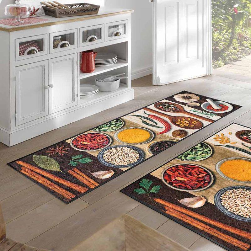 Fussmatte wash and dry Design Hot Spices Designbeispiel