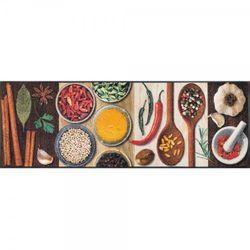 Fussmatte wash and dry Design Hot Spices 60x180 cm