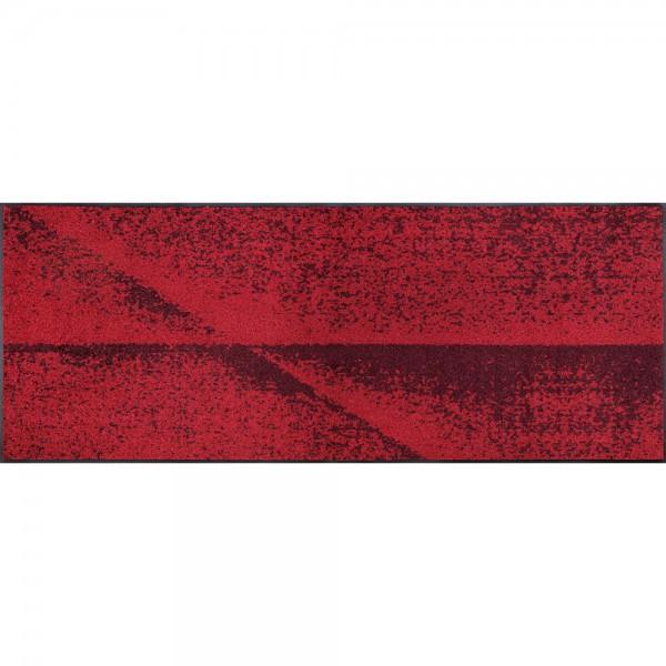 Fussmatte wash+dry Design Red Shadow 75x190 cm