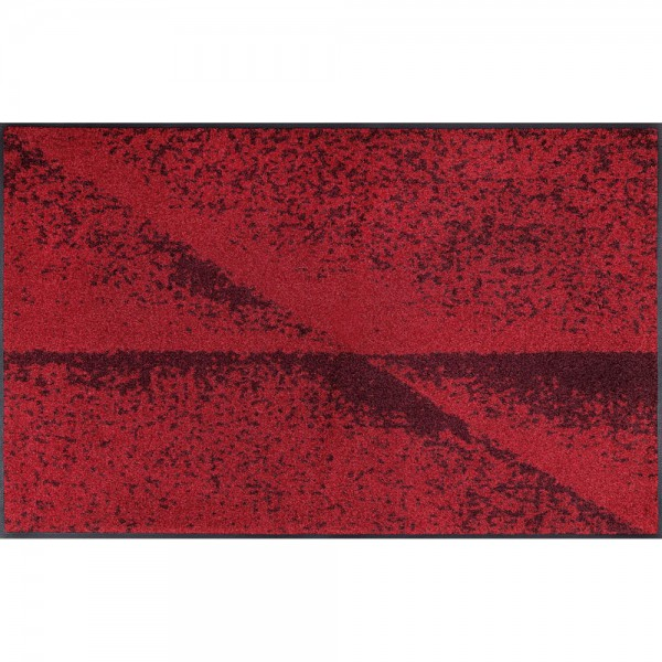 Fussmatte wash+dry Design Red Shadow 75x120 cm
