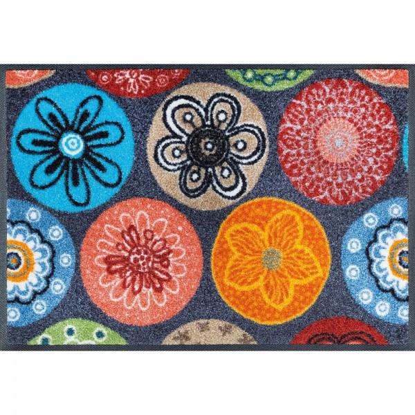 Fussmatte wash+dry Design Coralis 40x60 cm