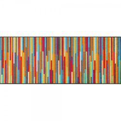 Fussmatte wash and dry Design Mikado Stripes 75x190 cm