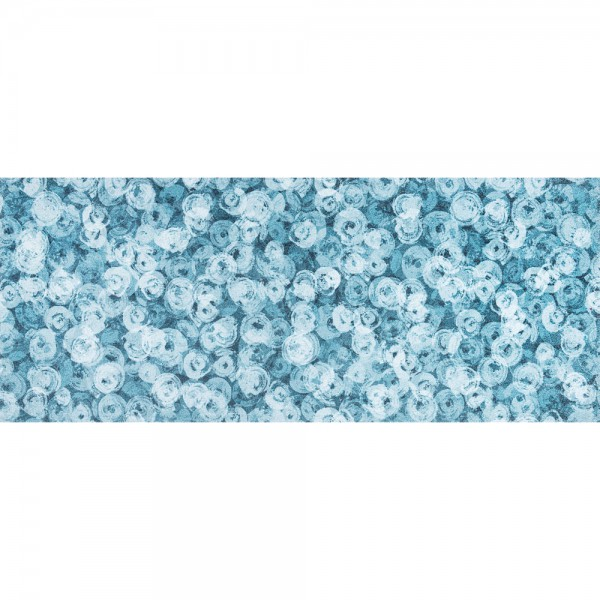 Fussmatte wash+dry Decor Punilla blue 80x200 cm Bild 1