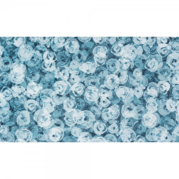 Fussmatte wash+dry Decor Punilla blue 70x120 cm