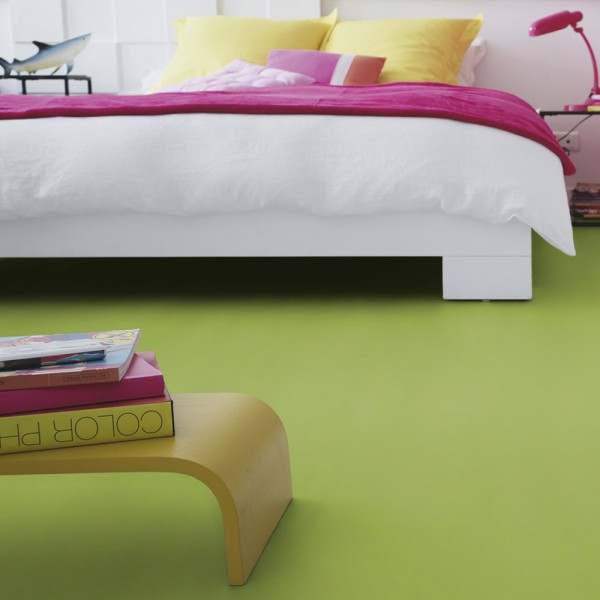 PVC Boden Tarkett Exclusive 200 Fabric Lime 2m