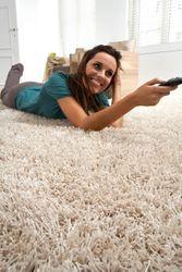 Reststück Shaggy Teppich Finesse Creme | 1,50x0,90 m Bild 2