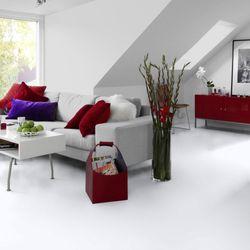 PVC Bodenbelag Tarkett Design 260 Dj White 1m Bild 5